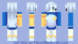 Elizabeth Liones - Blue ver. Minecraft Skin