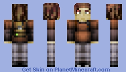 Ellie - The Last of Us Minecraft Skin