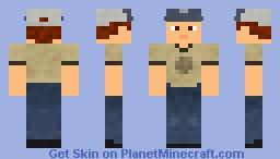 Left 4 Dead 2: Ellis Minecraft Skin