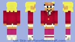 Elodie (P.O.I.N.T. Prep Suit) Minecraft Skin
