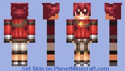 Elsword Minecraft Skin