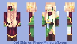 ~Emerald Eyes - CE~ Minecraft Skin