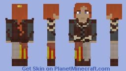 Elyse, Female Mercenary Minecraft Skin