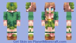 Emerald Minecraft Skin