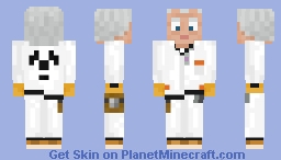 Doc Brown Minecraft Skin