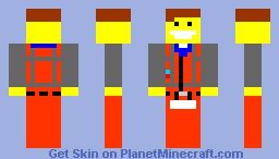 THE LEGO MOVIE-EMMET Minecraft Skin