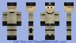 Enclave Officer - Fallout Minecraft Skin