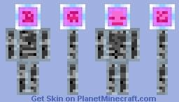 End Crystal Skin Minecraft Skin