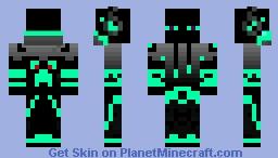 Enderman gamer Minecraft Skin