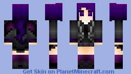 The Ender Dragon (PurpleShep's Mother/PinkSheep's Ex-wife) Minecraft Skin