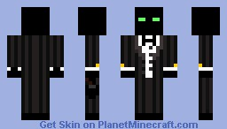 Enderman  in tux updated version