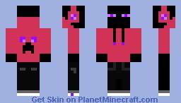 dj enderman Minecraft Skin