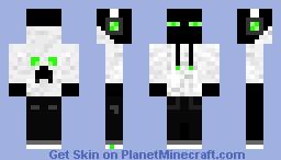 Enderman In Hoodie Minecraft Skin