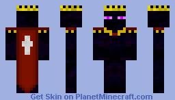 Ender King Minecraft Skin
