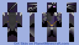the ender assasin Minecraft Skin