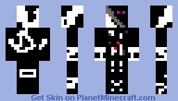 slnder man/ enderman Minecraft Skin
