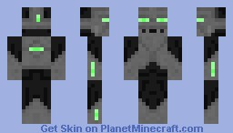 Endersteel (contest submission) Minecraft Skin