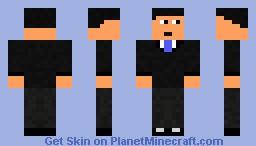 Epic James Bond 007 Minecraft Skin