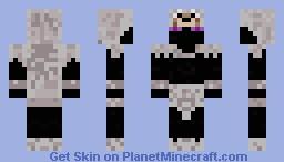 Ender wolf Minecraft Skin