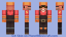 Engineer from Team Fortress 2 Minecraft