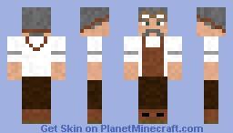 Old Steampunk Engineer Minecraft