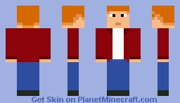 Fri  From Futrauma Minecraft Skin