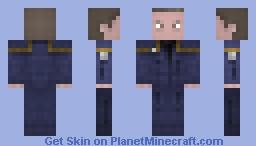 Cpt Jonathan Archer  /  Star Trek ENTERPRISE Minecraft Skin