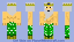 posiedon god of the sea Minecraft Skin
