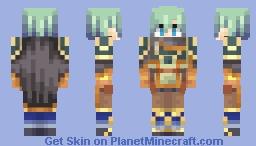 Ephraim, Restoration Lord - Fire Emblem: The Sacred Stones Minecraft Skin