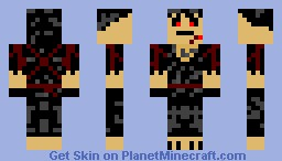Ninja of the Shadows Minecraft Skin