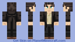 Because I Was Born In This World Minecraft Skin