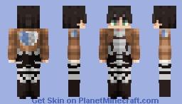 Eren Yeager - Attack on Titan - Minecraft Skin