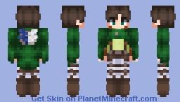 Eren Yeager - Attack On Titan Minecraft Skin