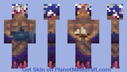 Deep Sea Eruption Minecraft Skin