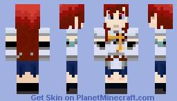 Ezra Scarlet Minecraft Skin
