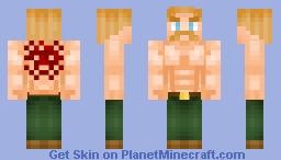 『 Escanor 』 Minecraft Skin