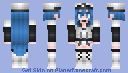 Esdeath - Akame Ga Kill! Minecraft Skin