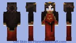Red Duchess Minecraft Skin