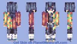 「I already can't cling to anything else but the you from that day..」 Minecraft Skin