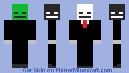 Skeleton 5 heads Minecraft Skin