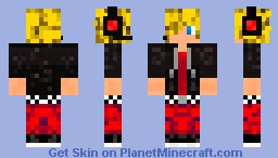 Headset cool guy Minecraft Skin