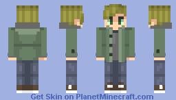 Ethan Winters / resident evil village Minecraft Skin