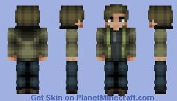 Resident Evil 8 - Ethan Winters Minecraft Skin