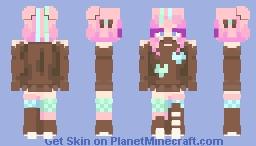 + ᴘᴀɪɴᴛᴇᴅ ᴠɪʟᴇ ɪɴ ʟᴜʀɪᴅ ʜᴜᴇ + ᴄᴇ + Minecraft Skin