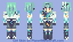 Eula Lawrence // Genshin Impact Minecraft Skin