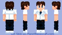 Evangelion - Shinji Ikari Minecraft Skin