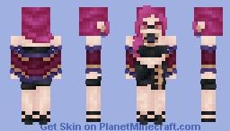 K/DA | Evelynn Minecraft Skin