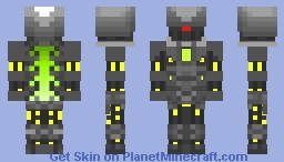 evil tech by brotexter Minecraft Skin