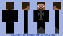 Evil Templar Minecraft Skin