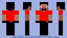 evil steav Minecraft Skin